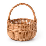 Empty Basket Royalty Free Stock Photography