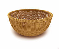 Empty basket Stock Images