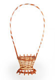Empty basket of flowers Royalty Free Stock Photography