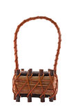 Empty basket isolated Stock Photography