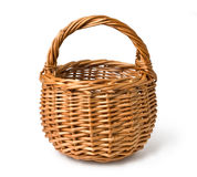 Empty basket Royalty Free Stock Photos