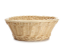 Empty basket Royalty Free Stock Photography