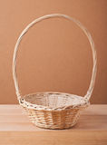 Empty basket Stock Image