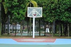 Empty Basketball Court Royalty Free Stock Photos
