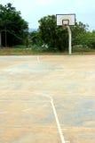 Empty Basketball Court Stock Photos
