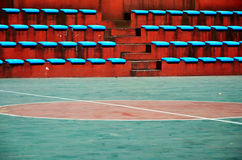 Empty basketball court Royalty Free Stock Photography