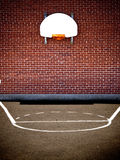 Empty basketball court Royalty Free Stock Image