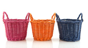Empty baskets Royalty Free Stock Photo