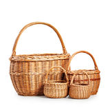 Empty baskets Royalty Free Stock Photography