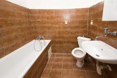 Empty bathroom Stock Photo