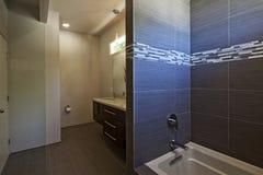 Empty bathroom of luxury house Royalty Free Stock Photo