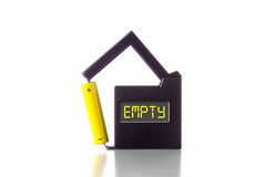 Empty battery Royalty Free Stock Images