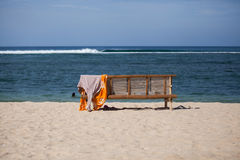 Empty beach in Aceh Royalty Free Stock Images