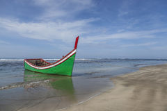Empty beach in Aceh, Indonesia Royalty Free Stock Photos
