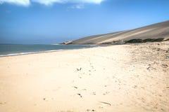 Empty beach on the Bazaruto Island Royalty Free Stock Image
