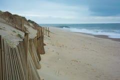 Empty beach esposende Stock Images