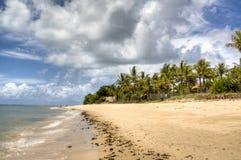 Empty beach. In Porto Seguro, Brazil Royalty Free Stock Photos