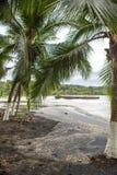 Empty beach in Puerto Viejo, Costa Rica Stock Images