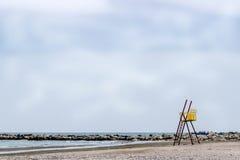 Empty beach Royalty Free Stock Photos