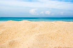 Empty beach and sea. Empty beach and sea background Stock Image