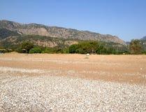 Empty beach Stock Photo