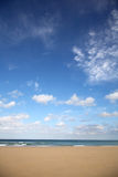 Empty Beach With Text Space. Stock Photography