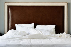 Empty Bed. Royalty Free Stock Image