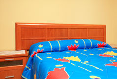 Empty bed Royalty Free Stock Photography