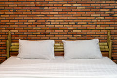 Empty bed Royalty Free Stock Images