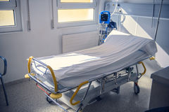 Empty Bed On Hospital Ward Royalty Free Stock Images