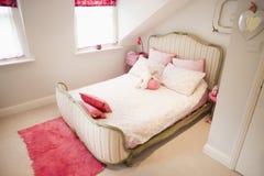 Empty bedroom Royalty Free Stock Image