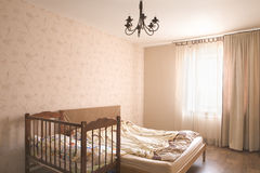 Empty Bedroom With Crib Royalty Free Stock Images