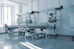 Empty beds in the hospital ward Royalty Free Stock Photos