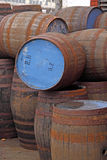 Empty Beer Barrels Stock Photos