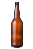 Empty beer bottle Royalty Free Stock Photo