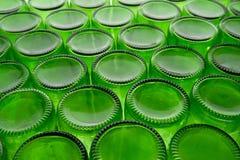 Empty Beer Bottles Stock Photo