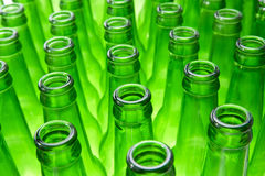 Empty Beer Bottles. Background Made From Empty Beer Bottles Stock Images