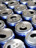 Empty Beer Cans Stock Photos