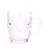 Empty beer glass. Close up. Royalty Free Stock Photo