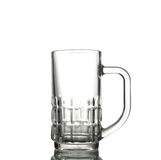 Empty beer glass Royalty Free Stock Images
