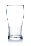 Empty beer glass Royalty Free Stock Image