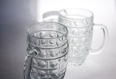 Empty beer glass Royalty Free Stock Photos