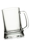 Empty beer mug Stock Photos