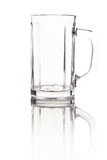 Empty beer mug Royalty Free Stock Images