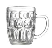 Empty beer mug Stock Photo
