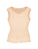 Empty beige lace top Royalty Free Stock Photo