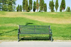 Empty bench Royalty Free Stock Photos