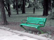 Empty bench royalty free stock images
