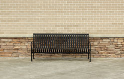An Empty Bench Stock Images