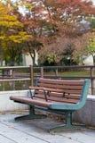 Empty bench Stock Photos